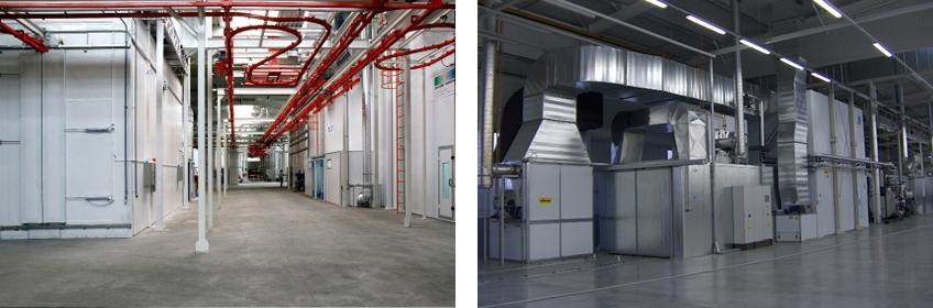 Anyagmozgató és szellőztető rendszer